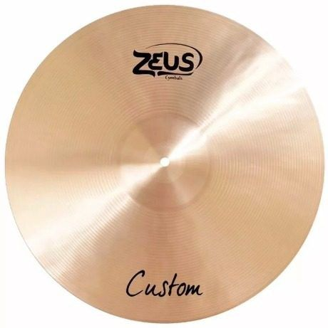 Prato Splash 10 Zeus Custom Zcs10 Bronze Liga B20 Efeito