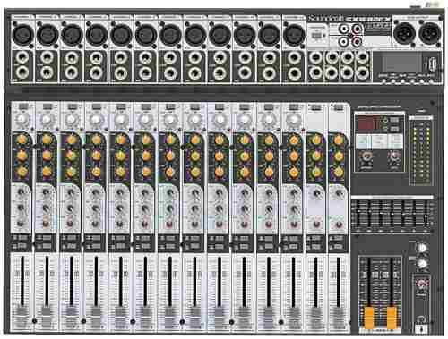 Mesa De Som Soundcraft Sx1602 Fx