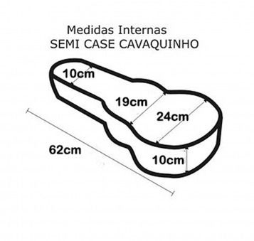 Semi Case Para Cavaquinho Solid Sound