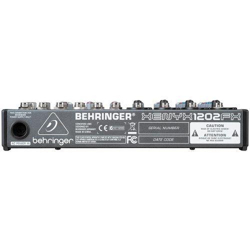 Mesa De Som Behringer Xenyx 1202fx C/ Efeito 110v