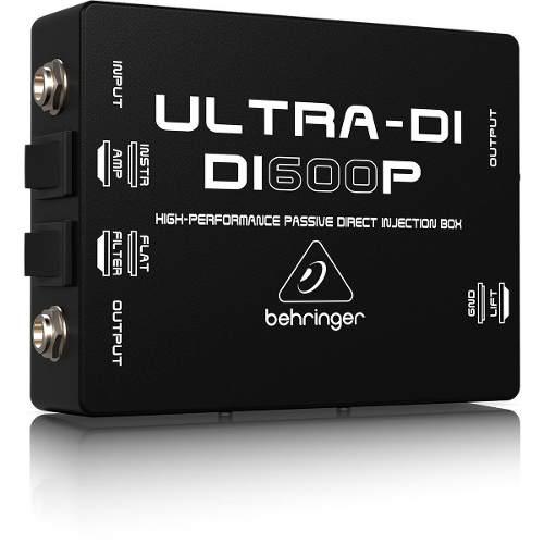 Direct Box Passivo Behringer Di600p