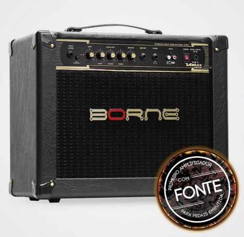 Cubo Amplificador Guitarra Borne Vorax 1050 50w Rms
