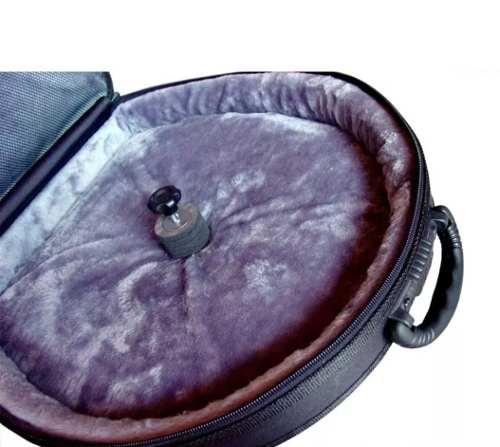 Semi Case Para Prato 22 Solid Sound Com Rodinhas