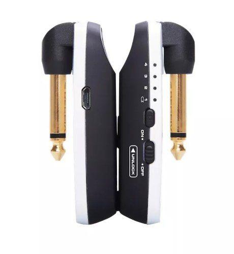 Sistema Nux B-2 Transmissor Sem Fio Instrumento 2.4