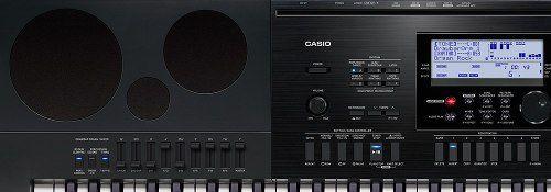 Teclado Arranjador Casio Wk-7600 76 Teclas Profissional com Fonte