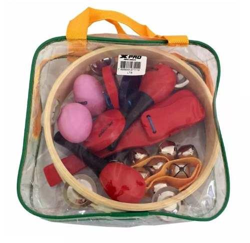 Kit Bandinha Ritmica C. Ibanez 6 Peças Com Bag Para Criança Lt6