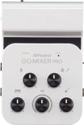 Interface de Áudio Go Mixer Pro Roland