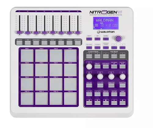 Controlador Dj Nitrogen 16 Usb/midi - Waldman