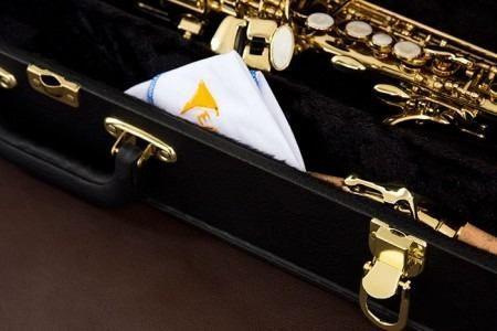 Saxofone Soprano Laqueado Eagle Sp502 com Estojo - Profissional