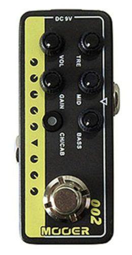 Pedal Mooer Pré Amp M002 Uk Gold 900 - Marshall Jcm 900