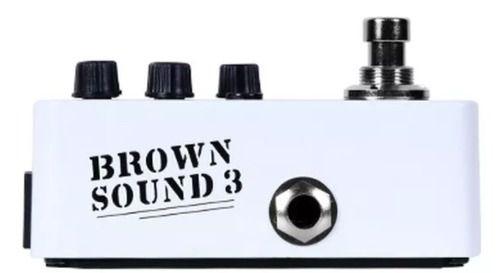 Pedal Mooer Brown Sound 3 M005 Pré Amp Para Guitarra