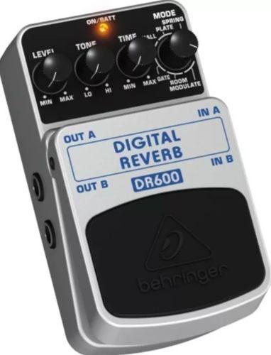 Pedal Digital Reverb Estéreo DR600 - Behringer