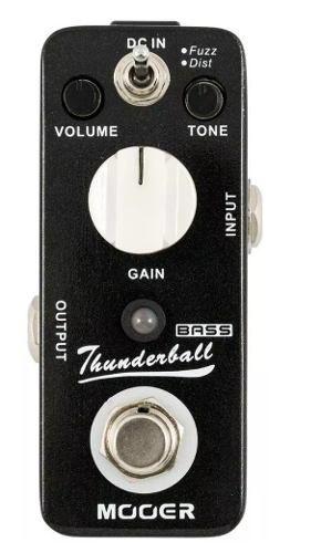 Pedal Mooer Thunderball Fuzz E Distorção Para Baixo MOD3