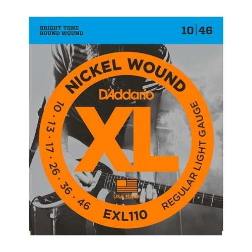 Encordoamento Guitarra Daddario Exl110-B 0.10