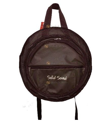 Bag de Prato Triplo Solid Sound Em Couro Marrom
