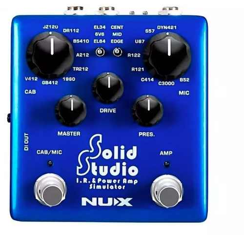Pedal De Guitarra Nux Solid Studio Nss-5 Amp Simulator