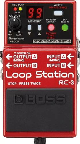 Pedal Boss Rc3 Loop Station 99 Memorias Rc-3