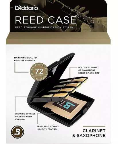 Estojo Case para Palhetas De Sax ou Clarinete Reed Case - D'addario