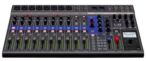Mesa Digital Zoom Livetrak L12 Com Gravação