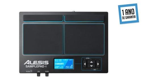 Alesis Samplepad 4 Percussão Bateria Eletronica Midi