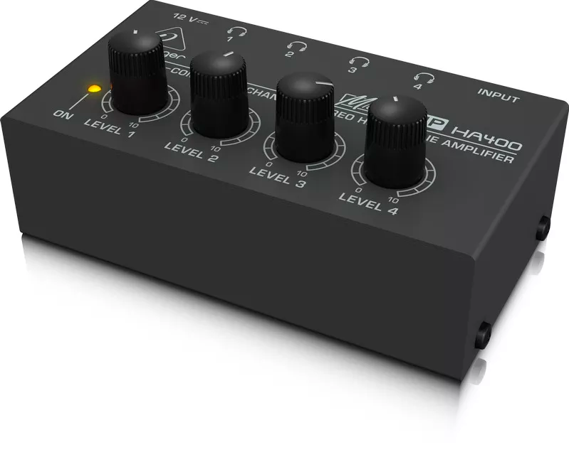 Amplificador De Fones Power Play Ha400 - Behringer