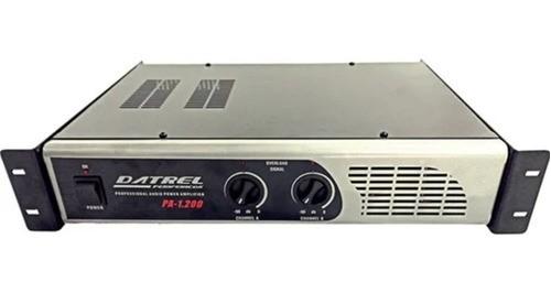 Amplificador De Potencia Datrel Pa1200 Profissional 200w