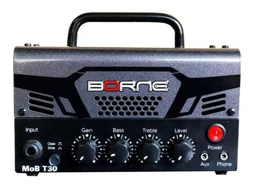 Cabeçote Amplificador Borne Mob T30 Chumbo