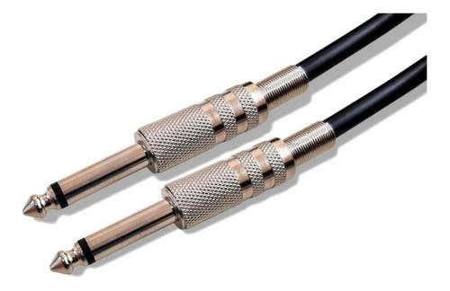 Cabo Guitarra Violão Baixo Mxt P10 X P10 Mono Preto 10 Metros