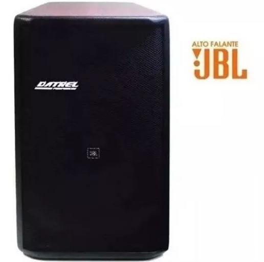 Caixa Datrel Ativa At15300 300W Alto Falante Jbl Bluetooth