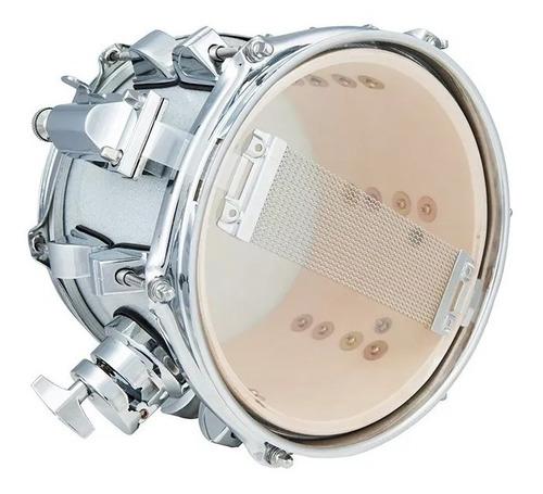 Caixa Nagano New Beat de Bateria 8 X 6 Tom Holder Gray Sparkle