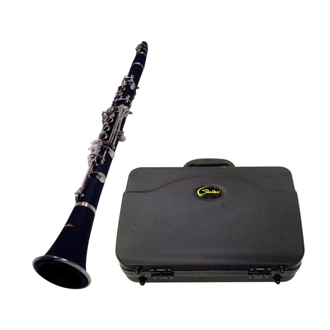 Clarinete Shelter SFT6402 Bb Com Case