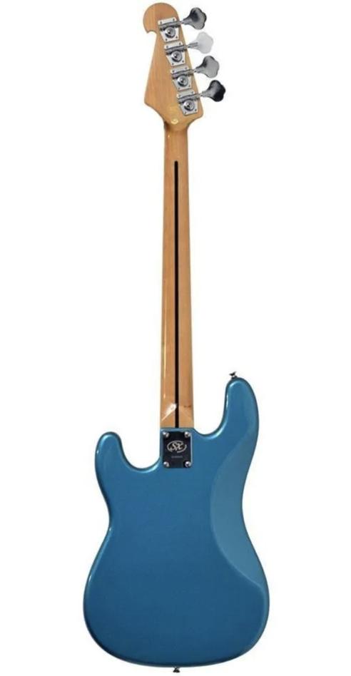 Contrabaixo 4c Sx Spb57 Azul Precision Bass Com Bag
