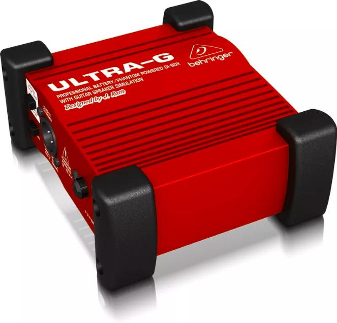 Direct Box Ativo Behringer Ultra-g Gi100