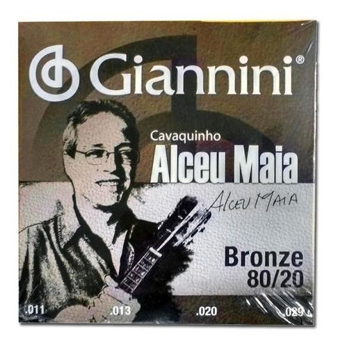 Encordoamento Cavaquinho Giannini Alceu Maia Sscvam