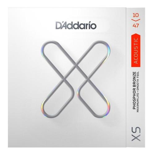 Encordoamento D'addario Xs 0.10 Violão Xsapb 1047 Extra Light