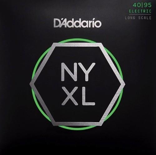 Encordoamento Daddario Nyxl 4095 de Contra Baixo 4 Cordas 040