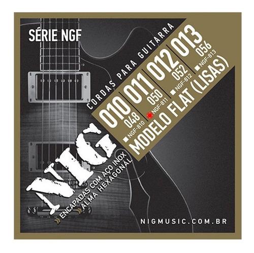 Encordoamento Nig Ngf-811 011 Flat Para Guitarra