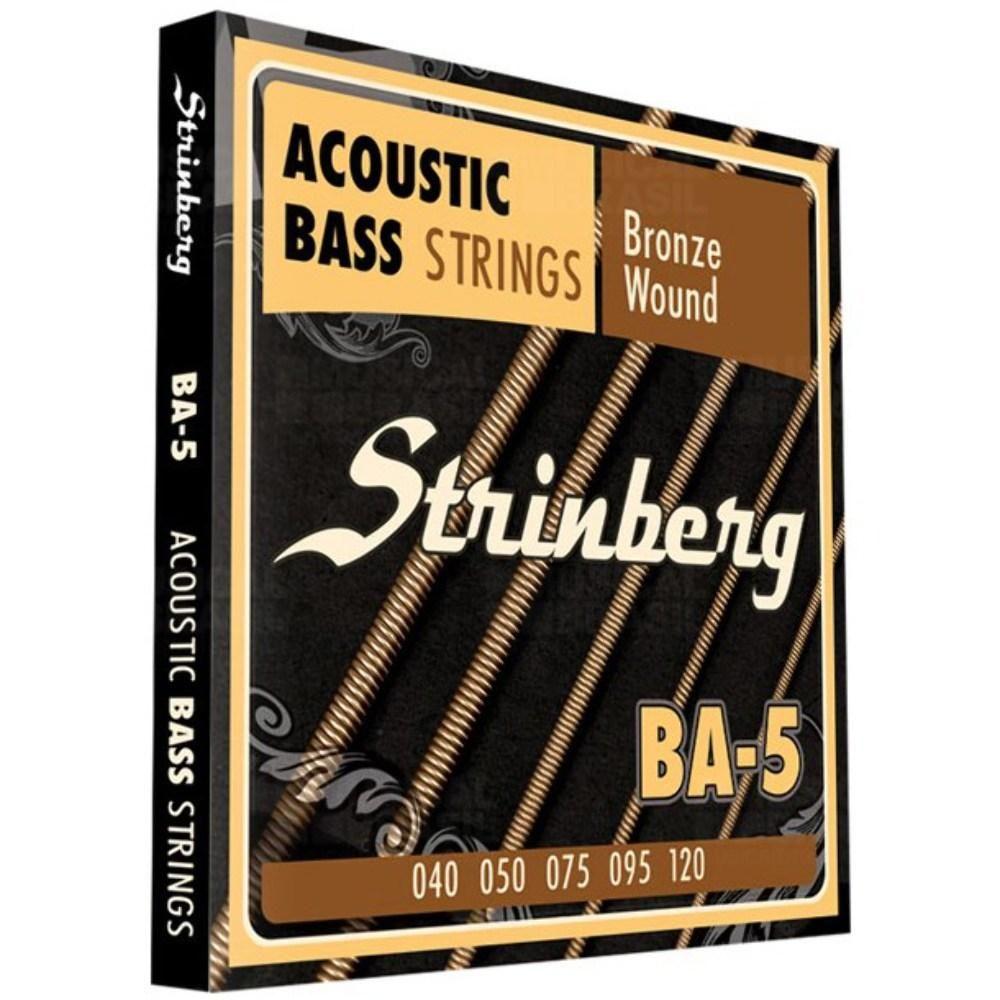 Encordoamento Para Contrabaixo Acústico Strinberg Ba 5
