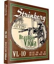 Encordoamento Para Viola Strinberg Vl10 10 Cordas