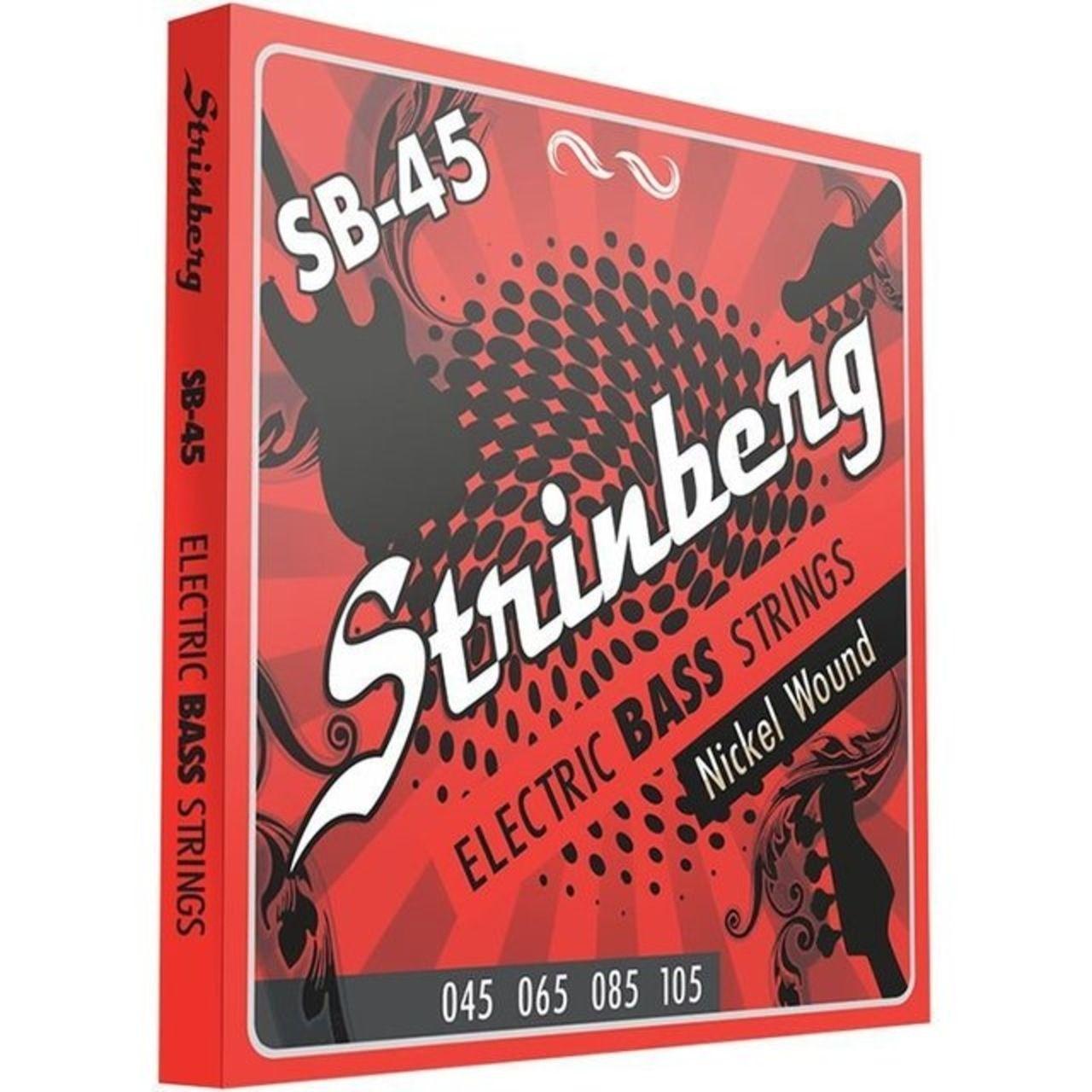Encordoamento Strinberg 045 Sb45 Contrabaixo 4 Cordas