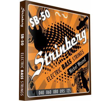 Encordoamento Strinberg Sb50 P/ Contra Baixo 5 Cordas 040