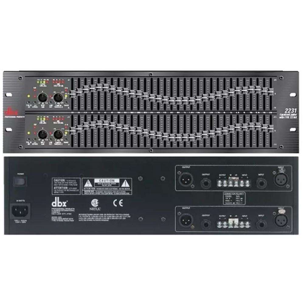 Equalizador DBX 2231V 31 Bandas - 110V