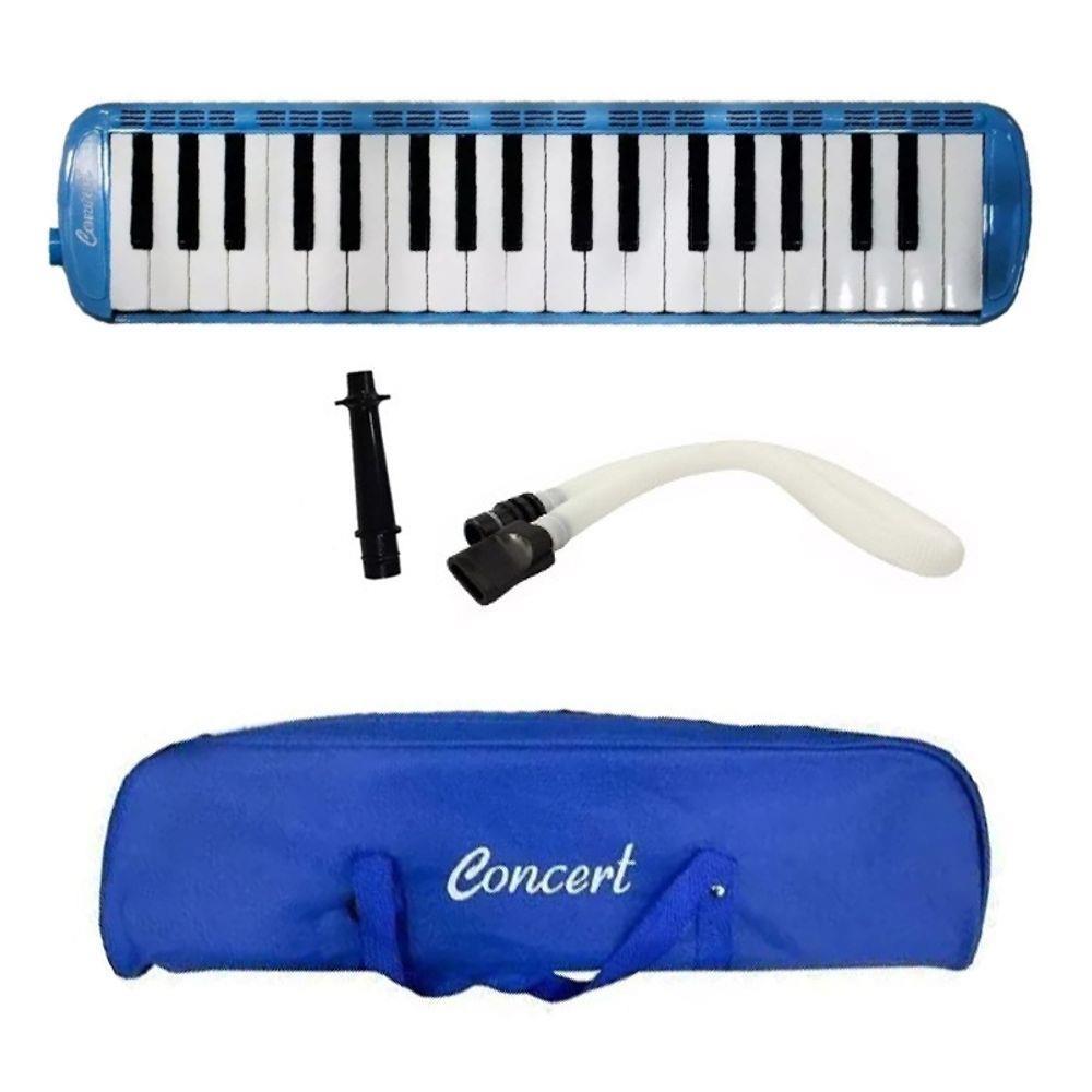 Escaleta 37 Teclas M37 Azul Concert Com Bag
