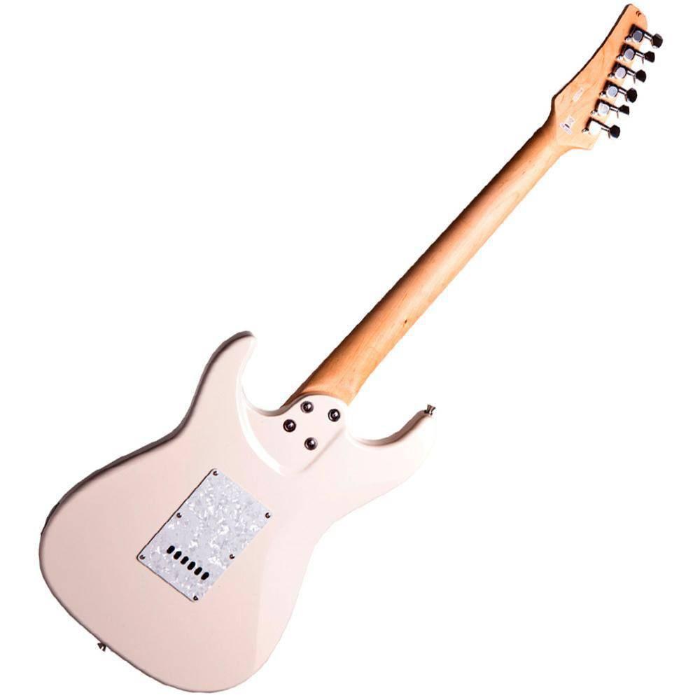 Guitarra Seizi Vision Mp Strato Ivory Escudo Branco Perolado