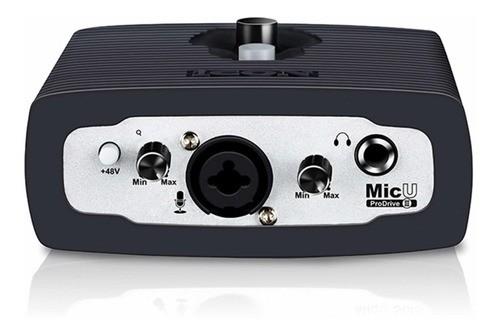 Interface De Áudio Icon Usb De 1 Canal Micu Live Pro Drive 3