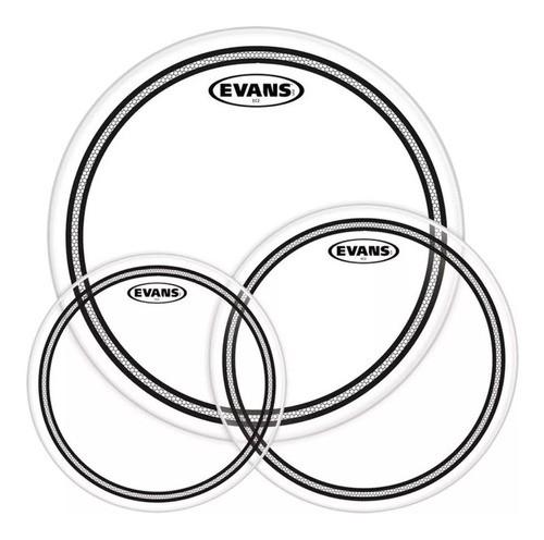 Kit De Peles Evans Ec2s Etp-ec2sclr-r Clear 10 , 12 E 16