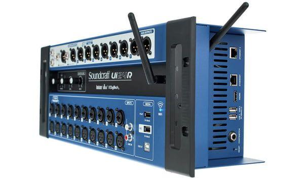 Mesa De Som Digital 24 Canais Controle Sem Fio Ui-24R - Soundcraft