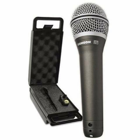 Microfone Dinâmico Samson Q7 | Profissional