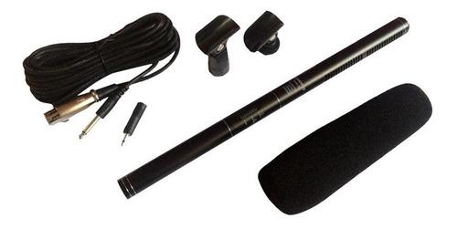 Microfone Uni-direcional Soundvoice Shotgun Msg36