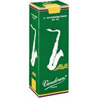 Palheta Vandoren Java Saxophone Tenor Nº 2,5 Caixa com 5 palhetas